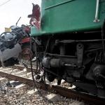 Tragiczny wypadek na przejeździe kolejowym w Walawie
