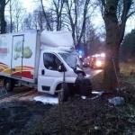Wypadek w okolicach Ciborza. Zginął kierowca