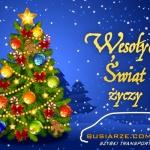 Wesołych Świąt dla koleżanek i kolegów!