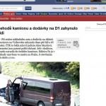 Pięć osób zginęło w wypadku busa w Czechach