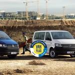 VW Transporter (T6) Międzynarodowym Samochodem Dostawczym 2016 roku