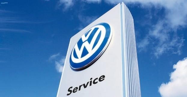 Volkswageny do serwisu.