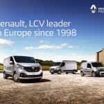 Renault liderem w segmencie lekkich aut dostawczych