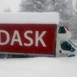 """Przełęcz Cuneo – bezmyslność kierowcy """"dostawczaka"""""""