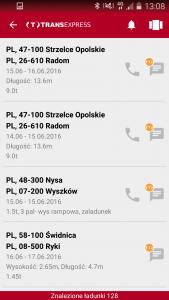 TransExpress_lista wyszukań