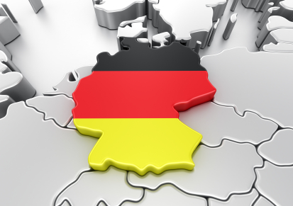 3d rendering of Germany