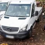 Skradziony Sprinter i Crafter warte łącznie 160 tysięcy złotych odzyskane.