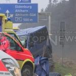 Wypadek busa w Niemczech – są ranni!