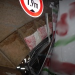 NIEMCY: 1.9 metra nie pokonane… Wiadukt nieustąpił…
