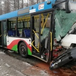 Bus zderzył się z autobusem. Nie żyje kierowca!