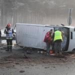 27-latek spowodował wypadek koło Kielc